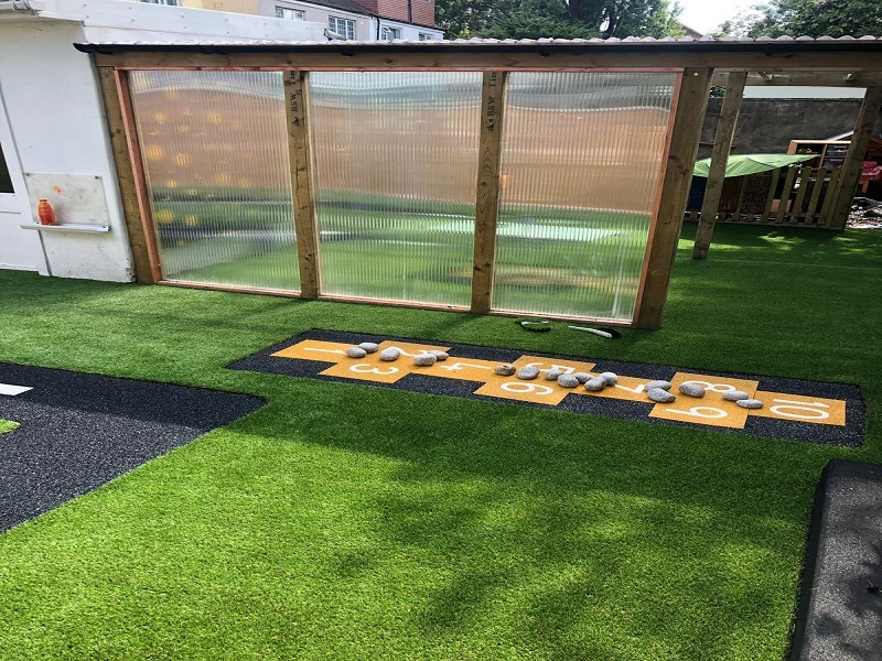 Artificial Grass and Wetpour in Coventry