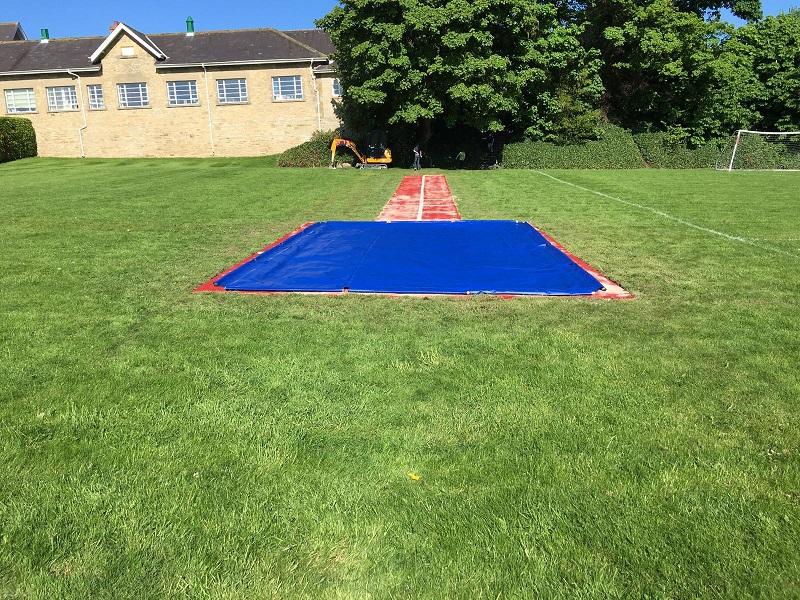 Long Jump Track Installation Newcastle