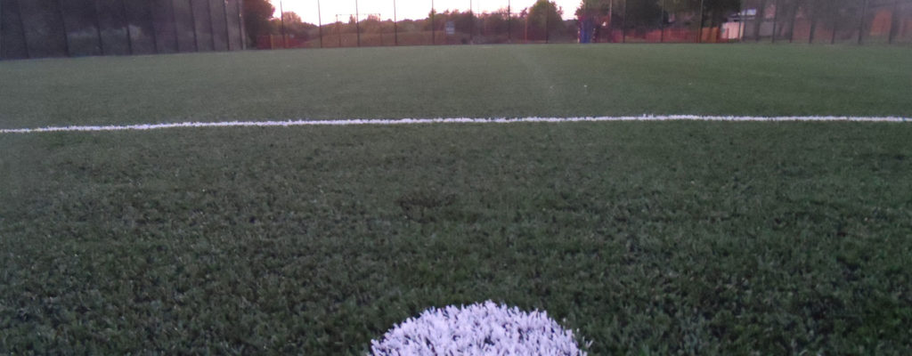 Synthetic Turf Sports Pitch Construction