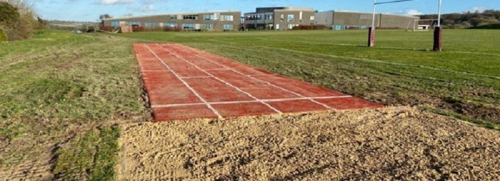 Long Jump Runway Installation in Chorley Lancashire