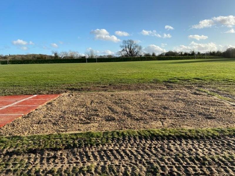 Multisport Long Jump Track in Norwich
