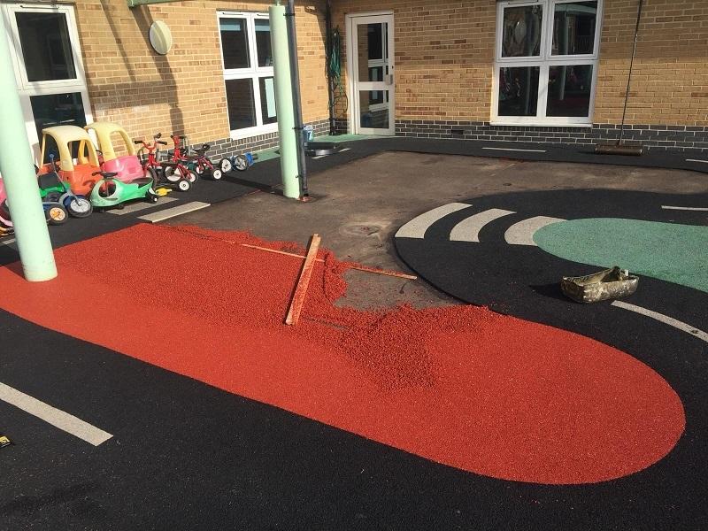 Nursery Wetpour Repair in Portsmouth