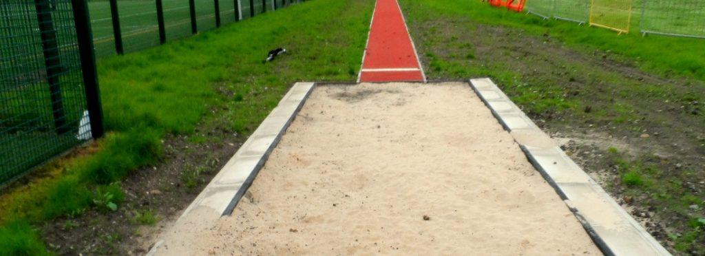 Athletics Landing Sand Pit Construction, Design, Costs