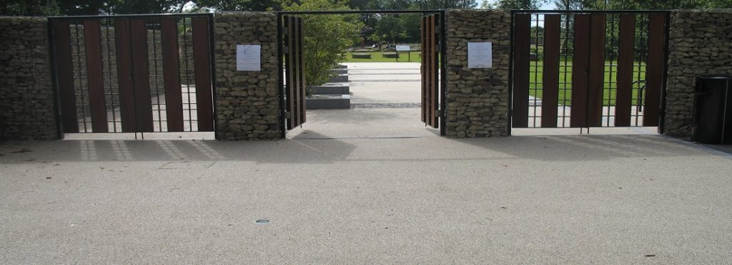 Resin Bound Gravel Pathway in Stockport, Greater Manchester