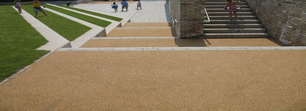 Resin Bound Installation in Ludlow, Shropshire