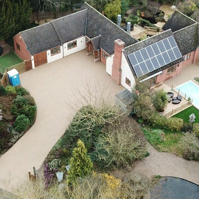 Commercial Resin Bound Gravel Project in Preston – Case Study