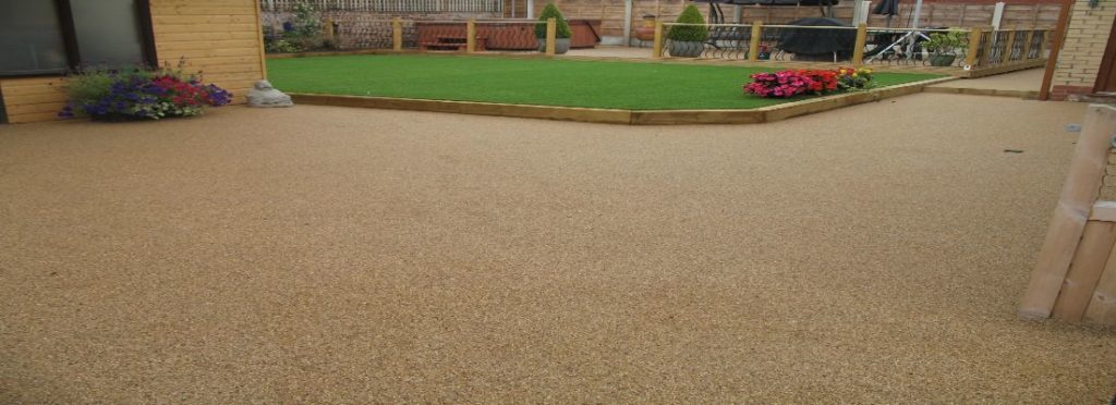 Resin Bound Stone Installation at Liverpool FC