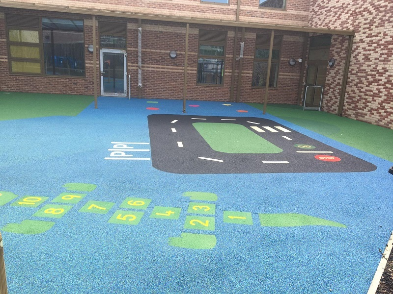 Rubber Play Area Surfacing Wakefield
