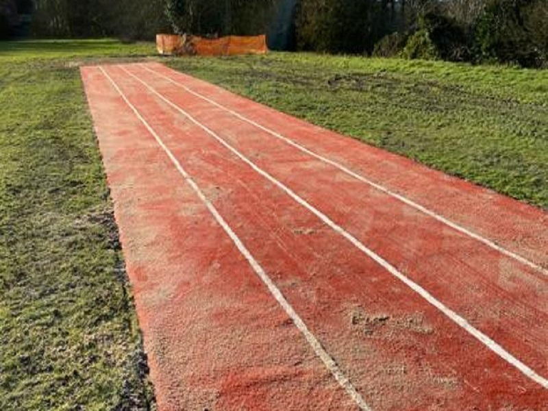 Synthetic Long Jump Runway Norwich
