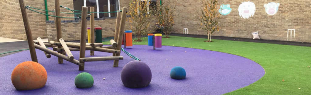 Soft Spheres Adding Third Dimension 3d to Play Area