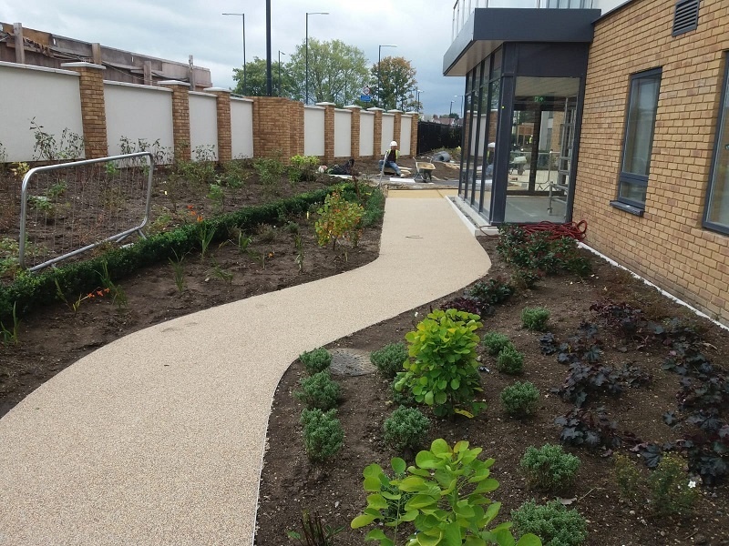 Wetpour Pathway Retirement Home in Leicester