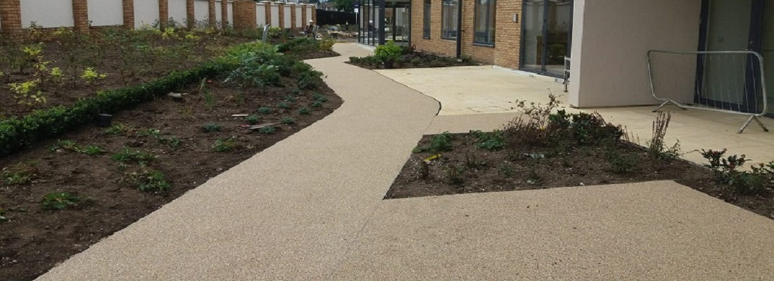 Wetpour Pathway in Leicester