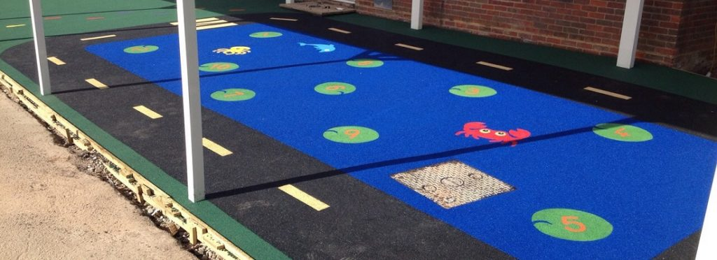 EPDM Rubber Play Area Flooring in Luton