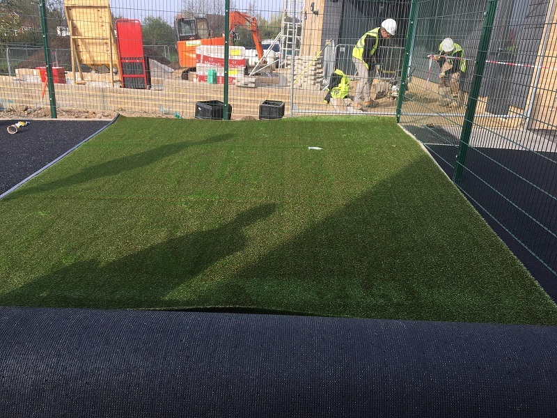 Wetpour and Artificial Grass Nursery Harlow