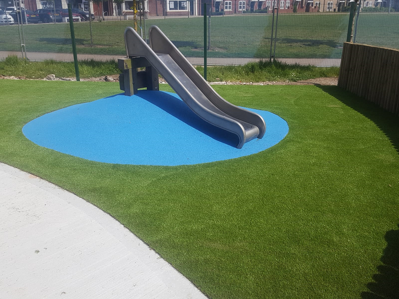 Wetpour and Artificial Grass Playground Middlesbrough