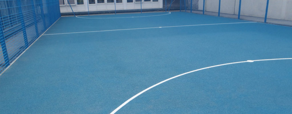 Tips Applying Polyurethane Painted Surface to Polymeric Multi Use Games Area