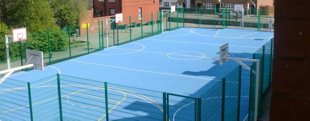 Recreational Basketball MUGA Sports Pitch