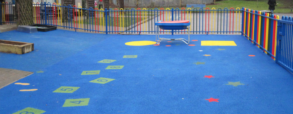 De Icer Liquid Applied Deicer Product to Wetpour Safety Flooring Pathways