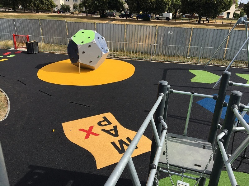 EPDM Rubber Play Area Surface in Luton