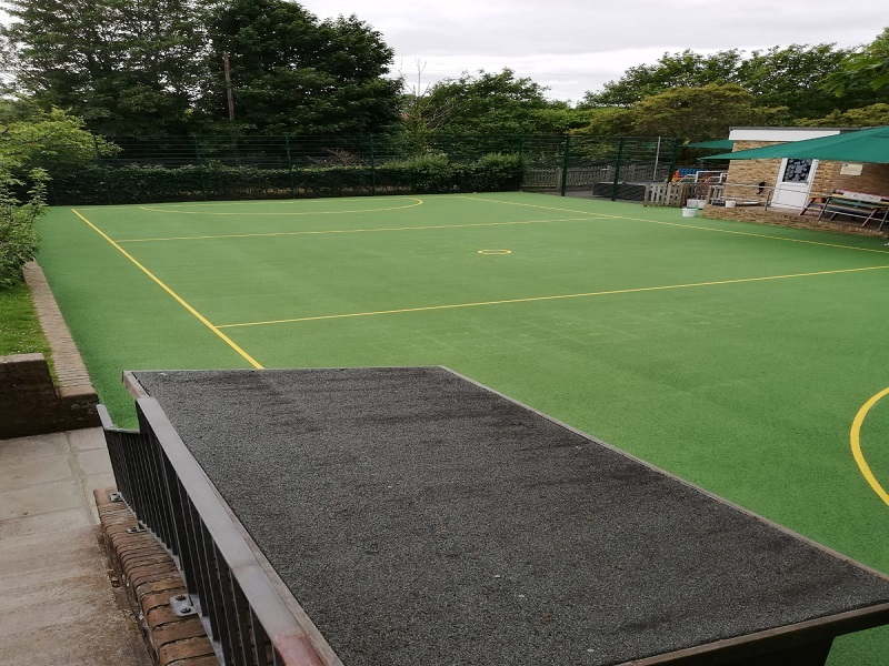 Sports Court Anti Slip Paint in Leicester