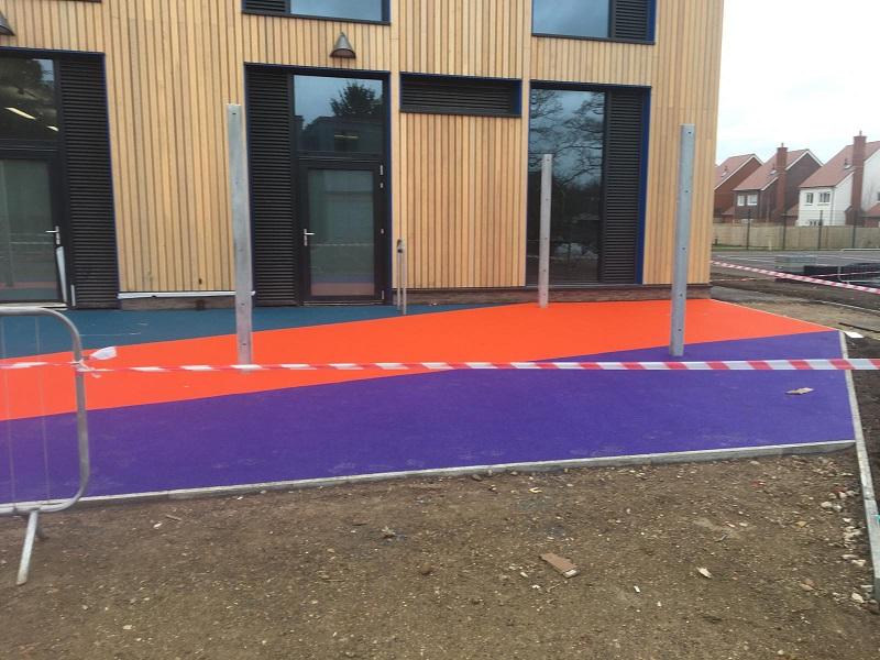 Wetpour Rubber Flooring in York