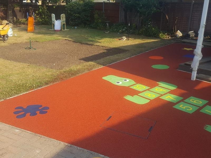 Day Care Playground Flooring Stoke