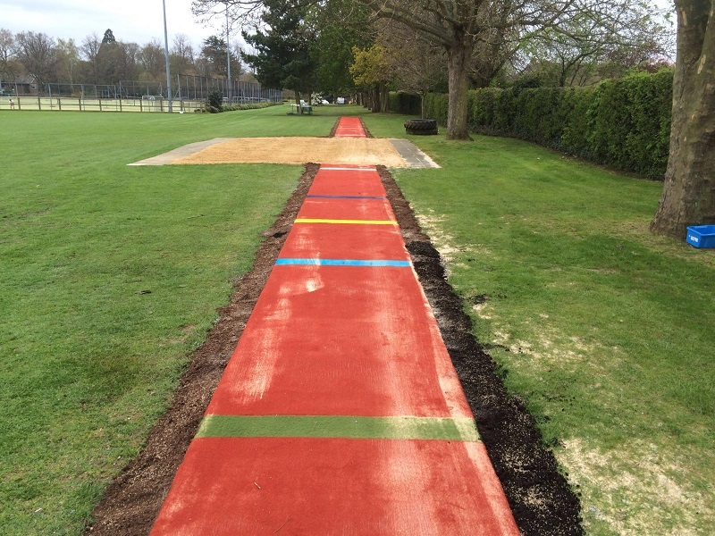 Multisport Long Jump Pit Construction in Coventry