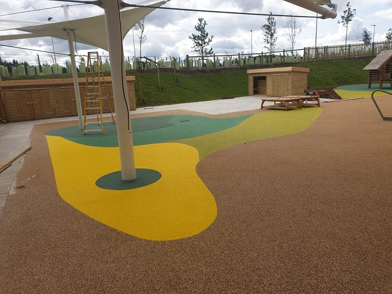 Outdoor Wetpour Surfacing in Leicester