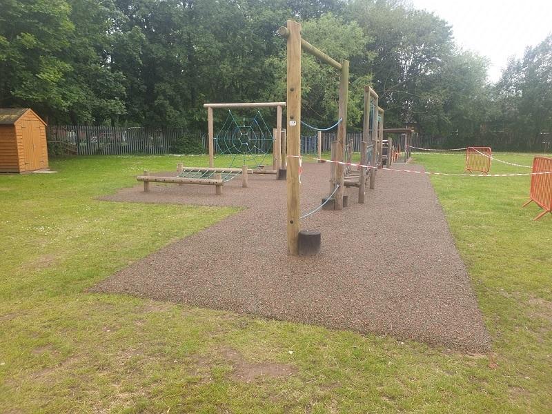 Needlepunch Playground Construction in Kilmarnock