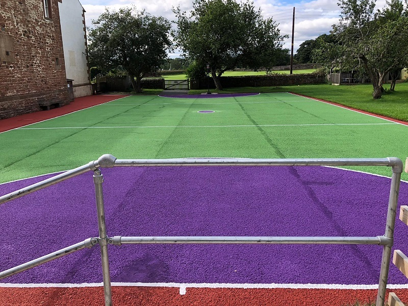 Sports Court Clean and Paint in Sheffield