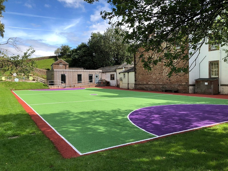 Sports Court Cleaning and Painting in Sheffield