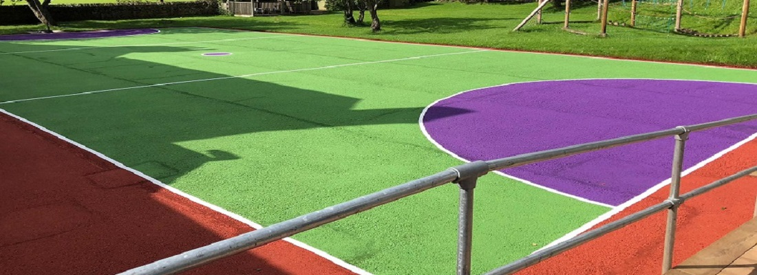 Sports Surface Painting in Sheffield