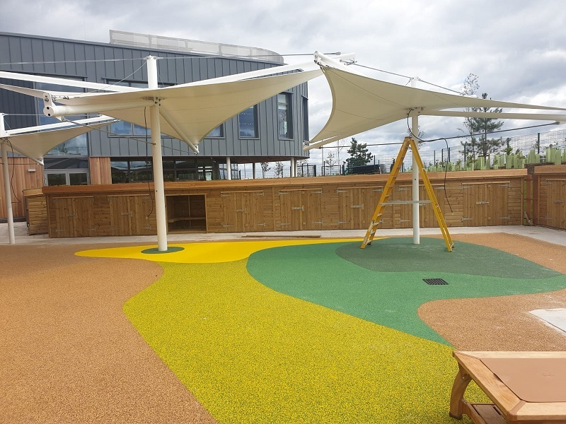 Wetpour Rubber Flooring in Leicester
