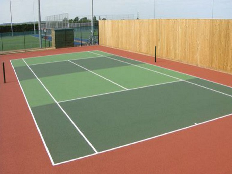 Sports-Cote Court Binder and Aggregate Rich Acrylic Non Slip Paint