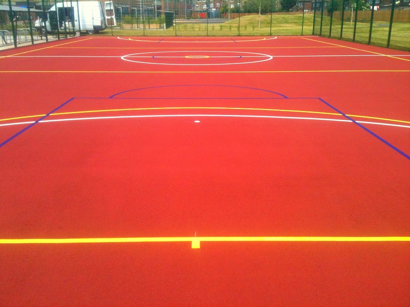 Leeds Tennis Court Cleaning and Repainting Surfacing