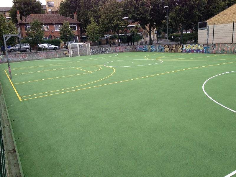 Tennis Court Maintenance – Deep Clean and Recolouring