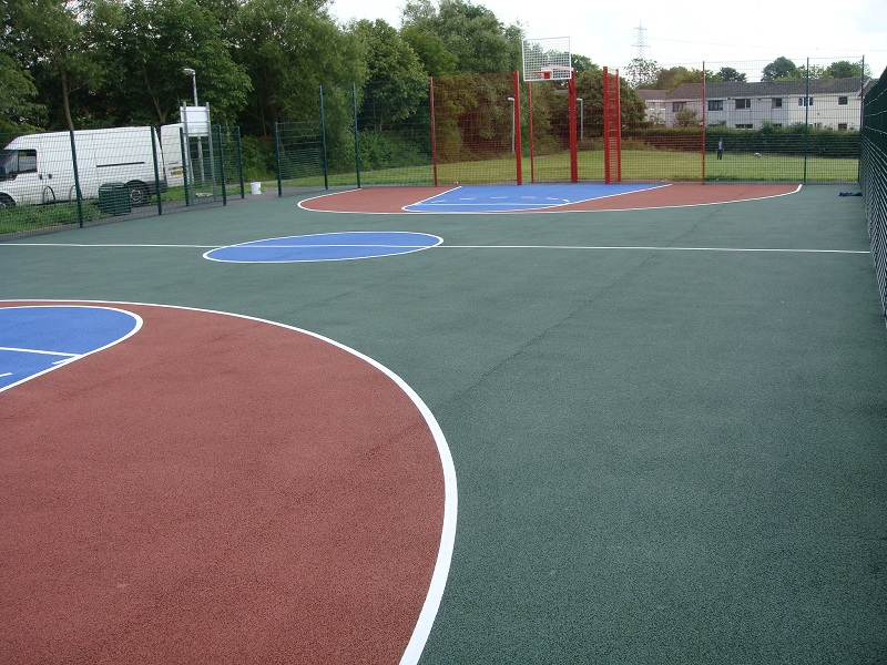 Residential MUGA Tennis Courts Painting Specialists