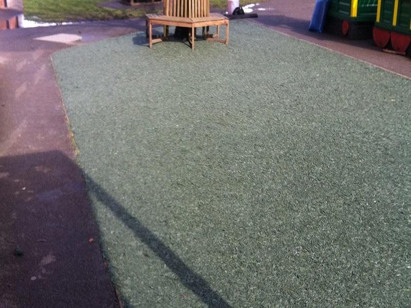 Rubber Mulch Safety Surface Designs