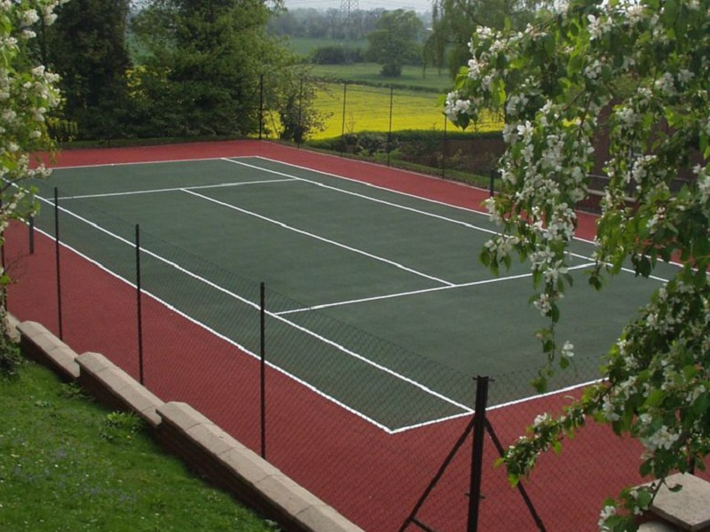 Proactive Maintenance for Multi Use Games Areas