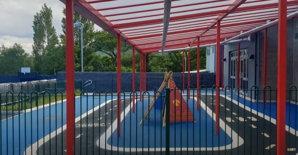 Colourful UK Playground Surfacing in Bedfordshire