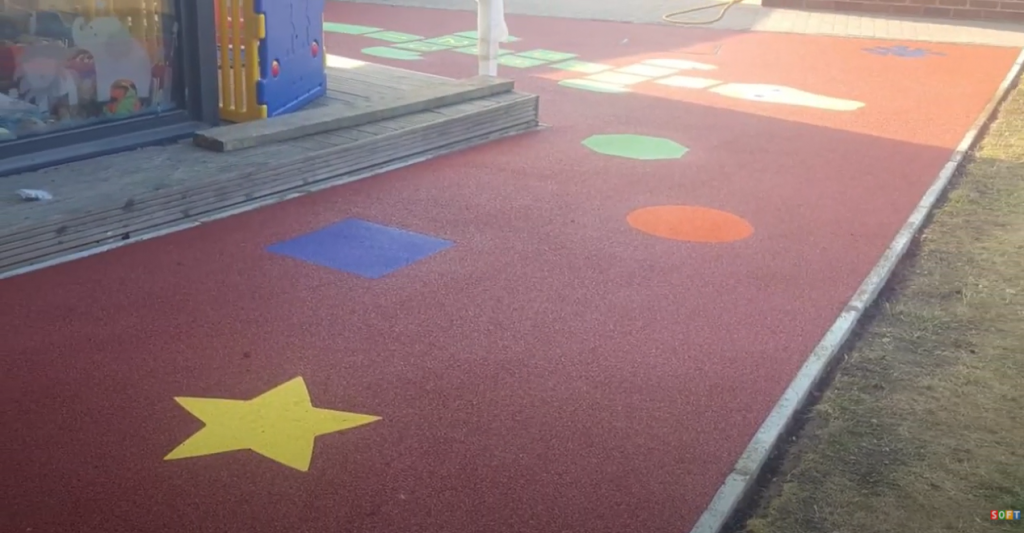 Day Care Playground Safety Flooring in Stoke, Staffordshire