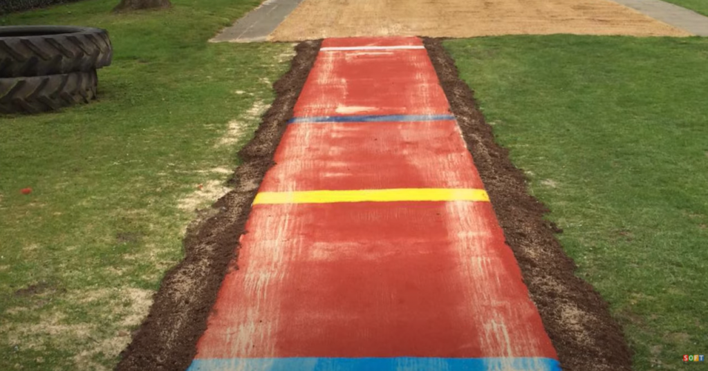 MultiSport Long Jump Pit Installation in Coventry