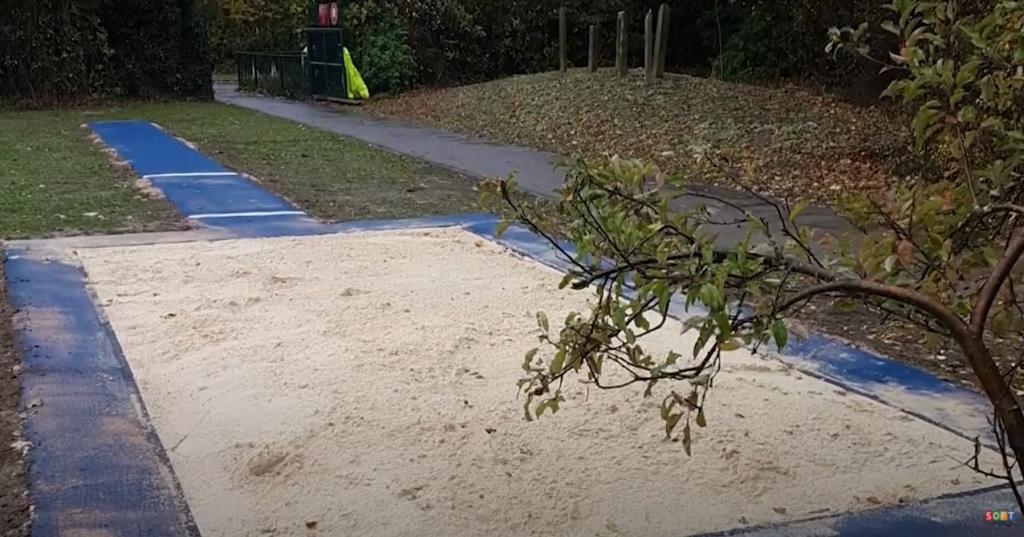 MultiSport Long Jump Installation at a School in Essex
