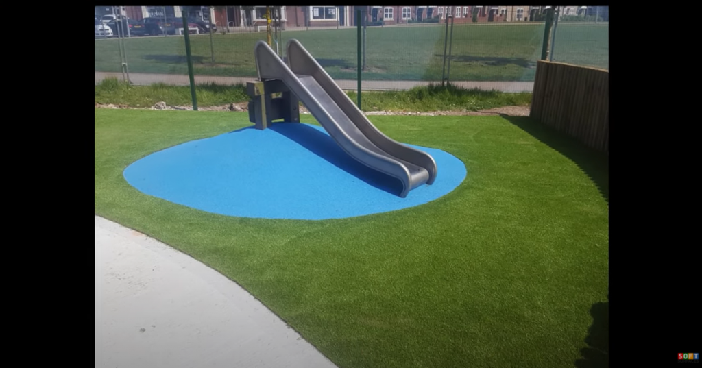 Rubber Playground and Artificial Grass Surfacing in Middlesborough, Yorkshire