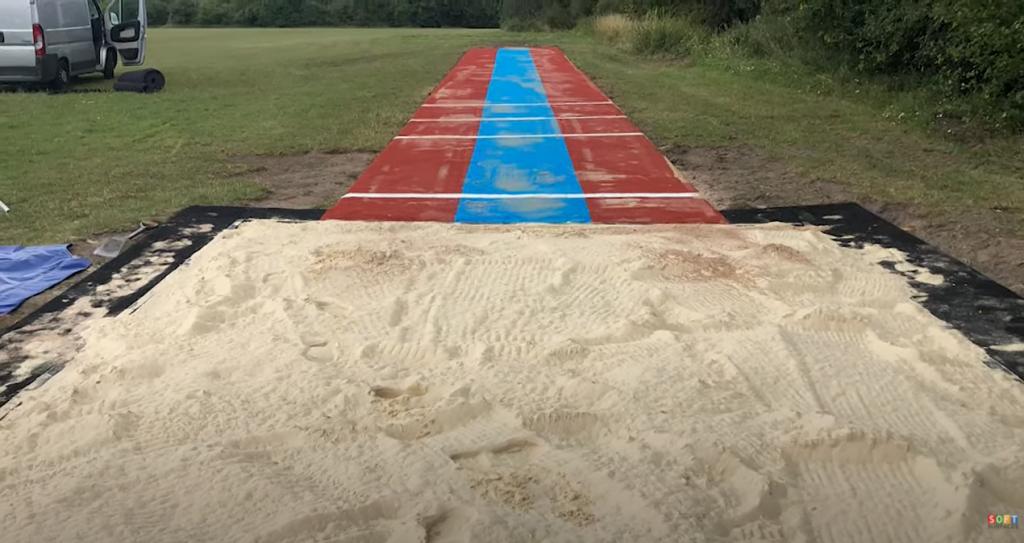 Multisport Long Jump Construction in Buckinghamshire