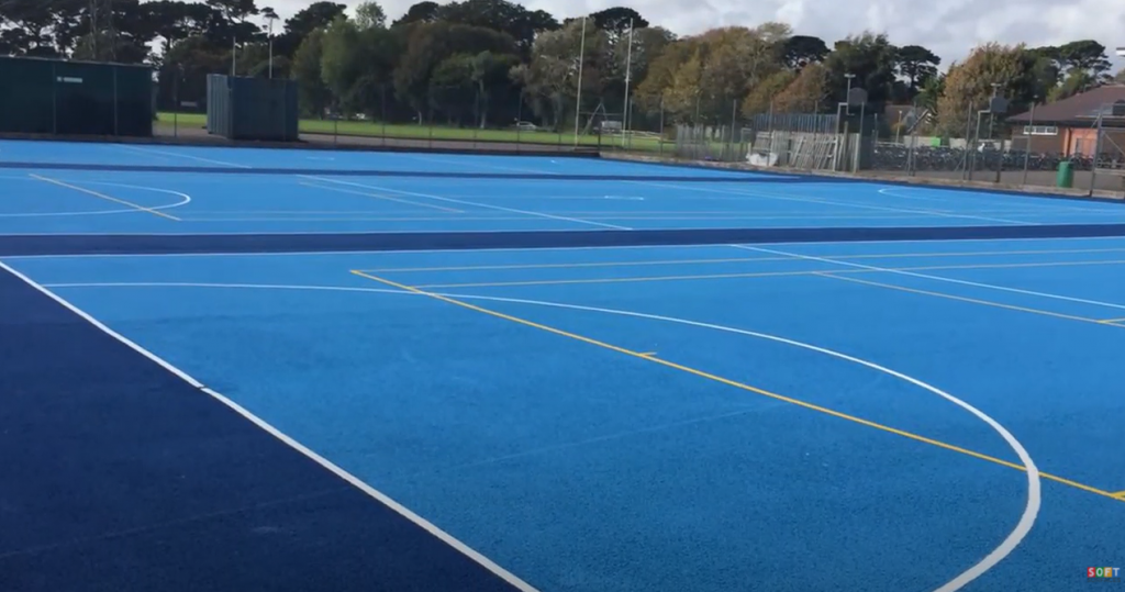 Sports Court Cleaning and Painting in Preston