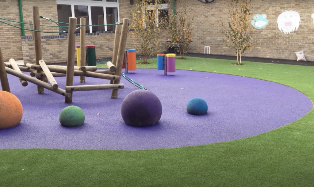 Wet Pour Surfacing and Synthetic Turf Construction in Worthing, Sussex
