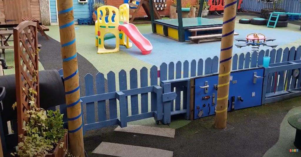 Spongy Nursery School Surfacing in Carlisle