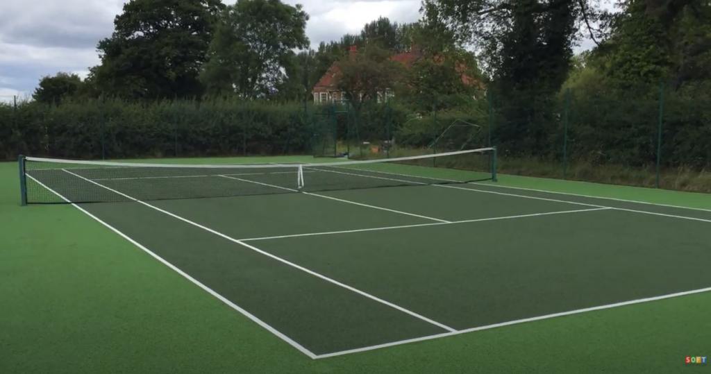 Outdoor Sports Surface Clean & Paint in Glasgow