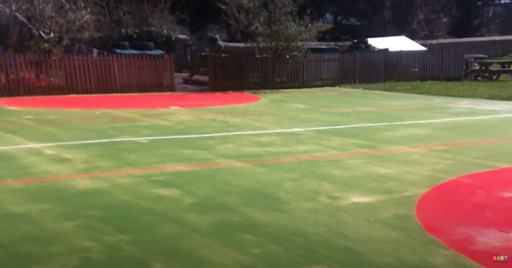 MultiSport Synthetic Surface Install in Oxford